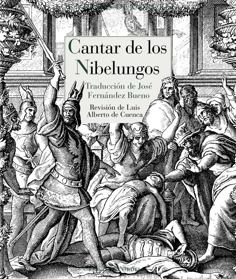 CANTAR DE LOS NIBELUNGOS: portada