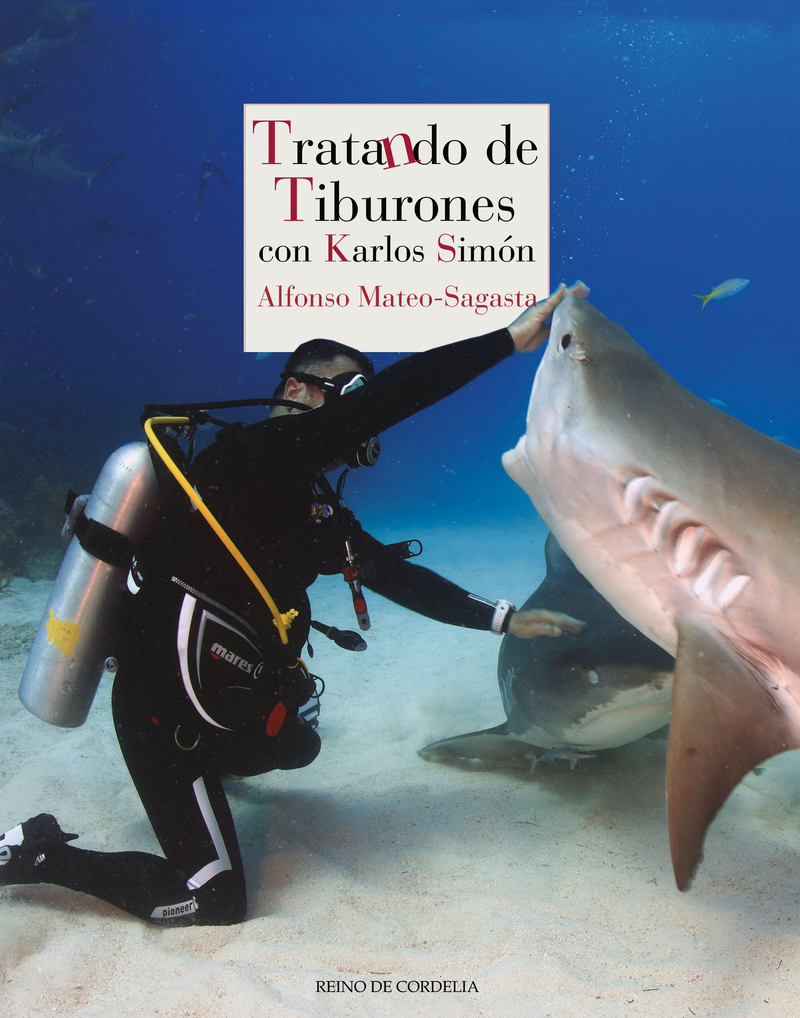 TRATANDO DE TIBURONES: portada