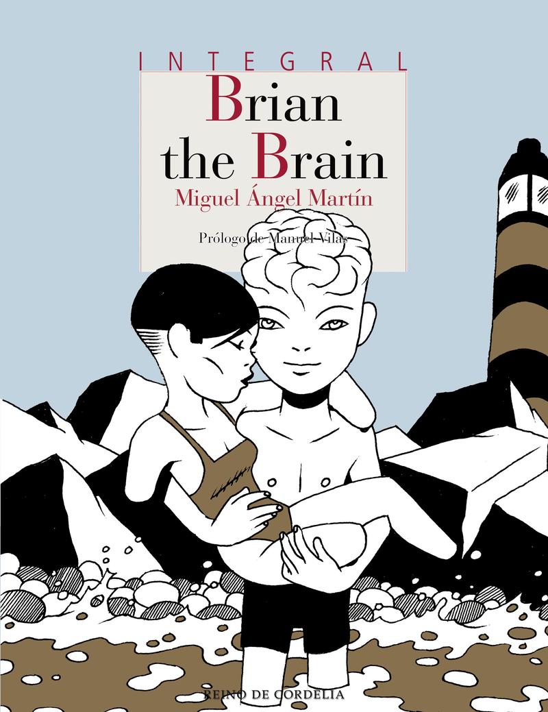BRIAN THE BRAIN: portada