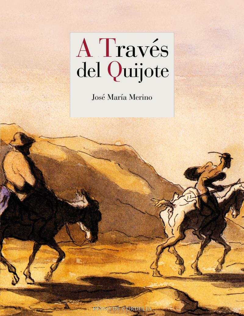 A TRAVÉS DEL QUIJOTE: portada