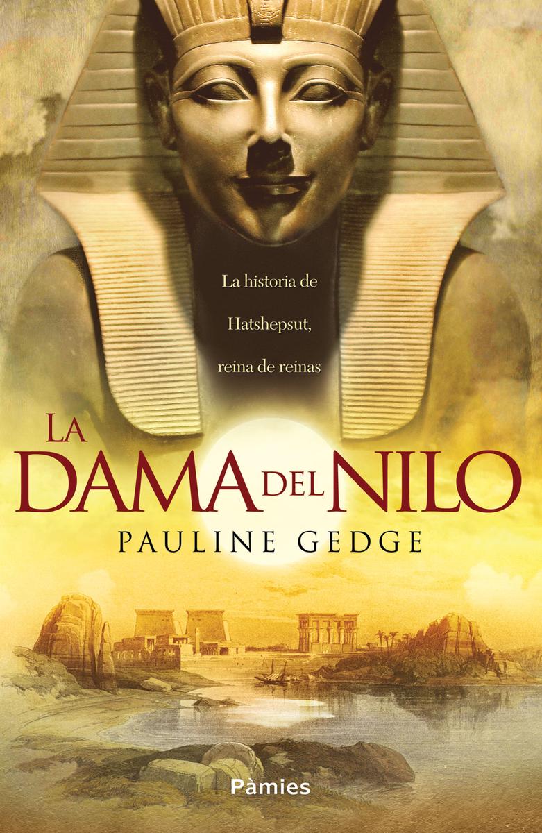 La dama del Nilo: portada