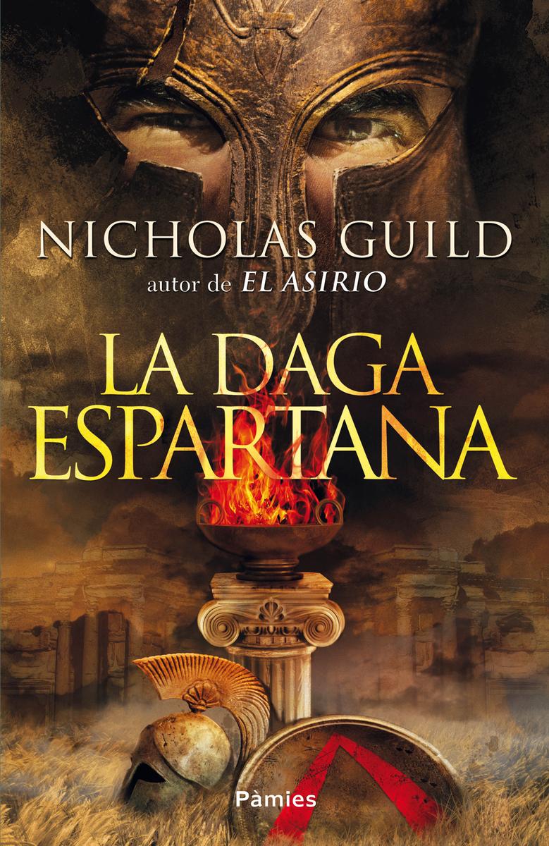 La daga espartana: portada