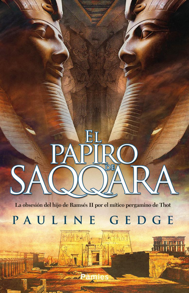 El papiro de Saqqara: portada