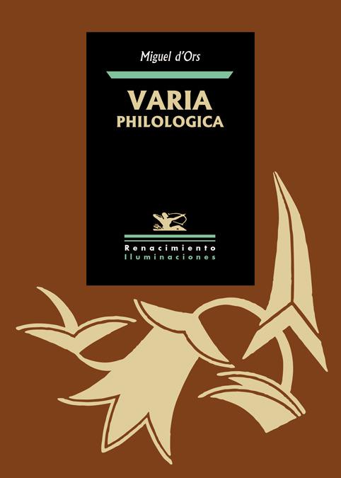 VARIA PHILOLOGICA: portada