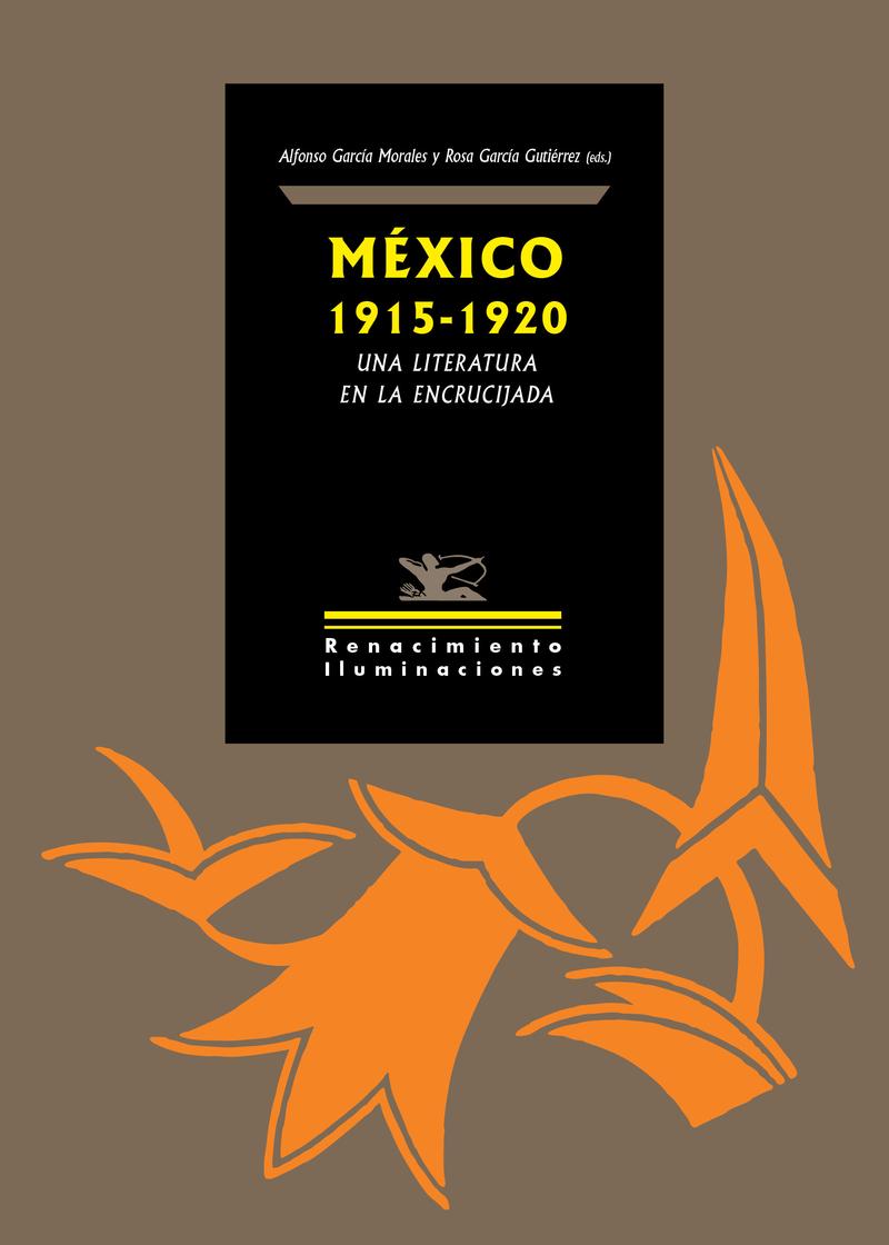 México 1915-1920: una literatura en la encrucijada: portada