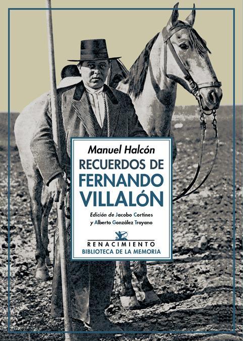 Recuerdos de Fernando Villalón: portada