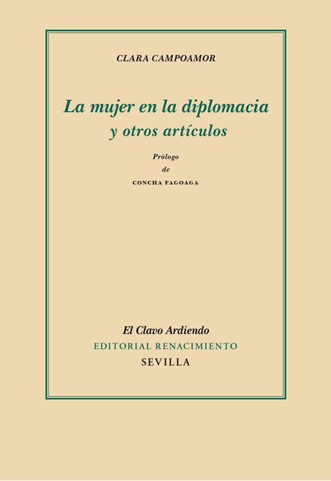 La mujer en la diplomacia y otros artículos: portada
