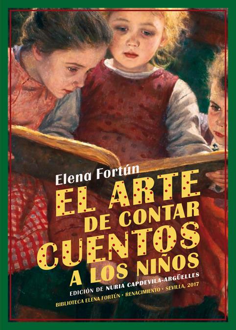 EL ARTE DE CONTAR CUENTOS A LOS NIñOS: portada