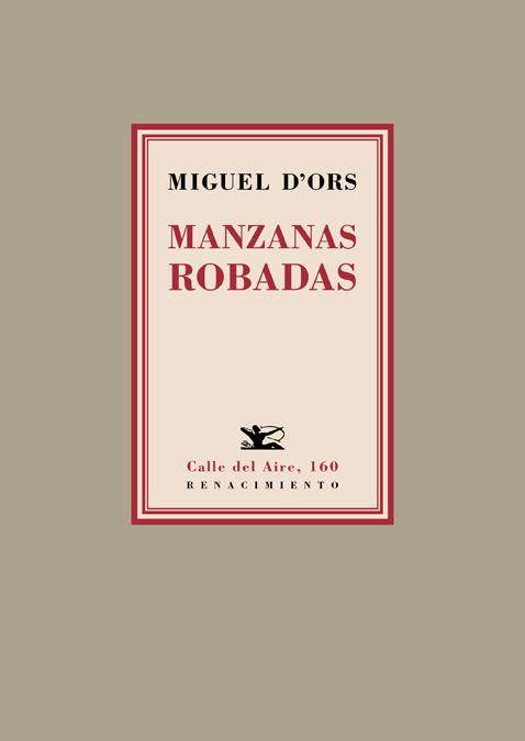 MANZANAS ROBADAS: portada