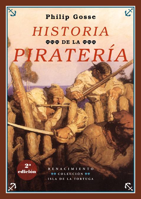 Historia de la piratería. 2 ed.: portada