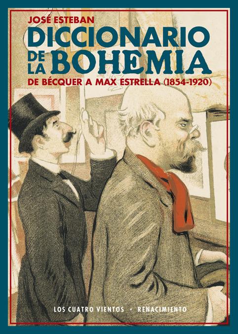 Diccionario de la bohemia: portada
