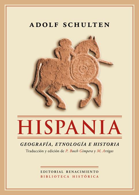 Hispania. Geografía, Etnología e Historia.: portada
