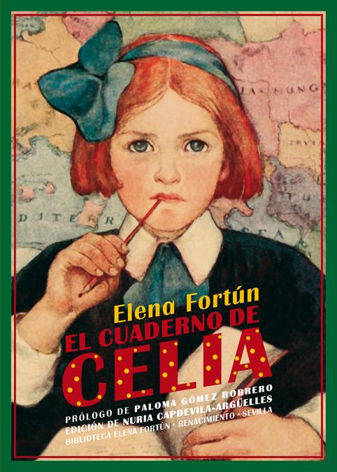 El cuaderno de Celia: portada