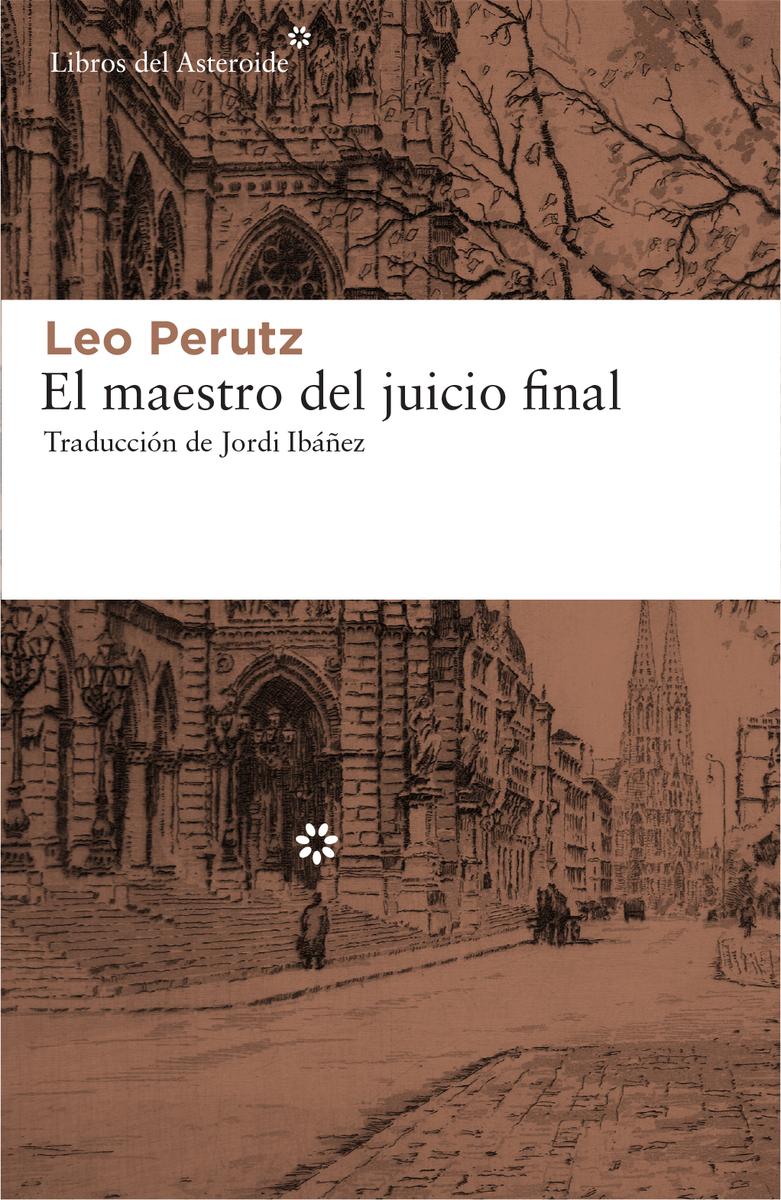 El maestro del juicio final: portada