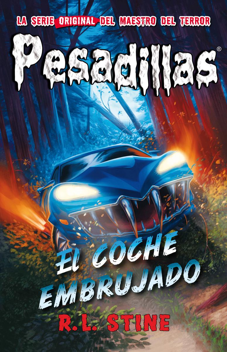 El coche embrujado: portada