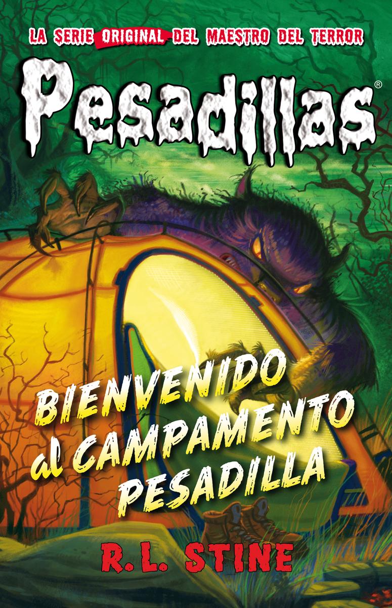 Bienvenido al Campamento Pesadilla: portada