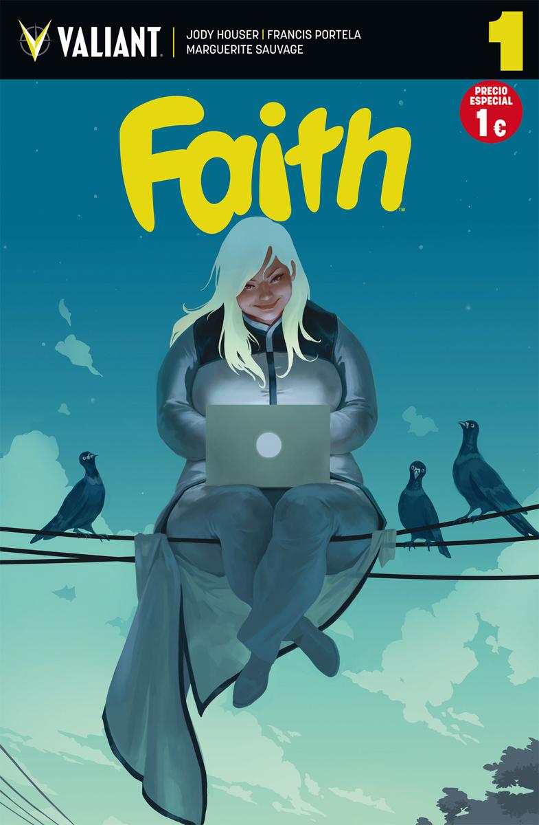FAITH 1: portada