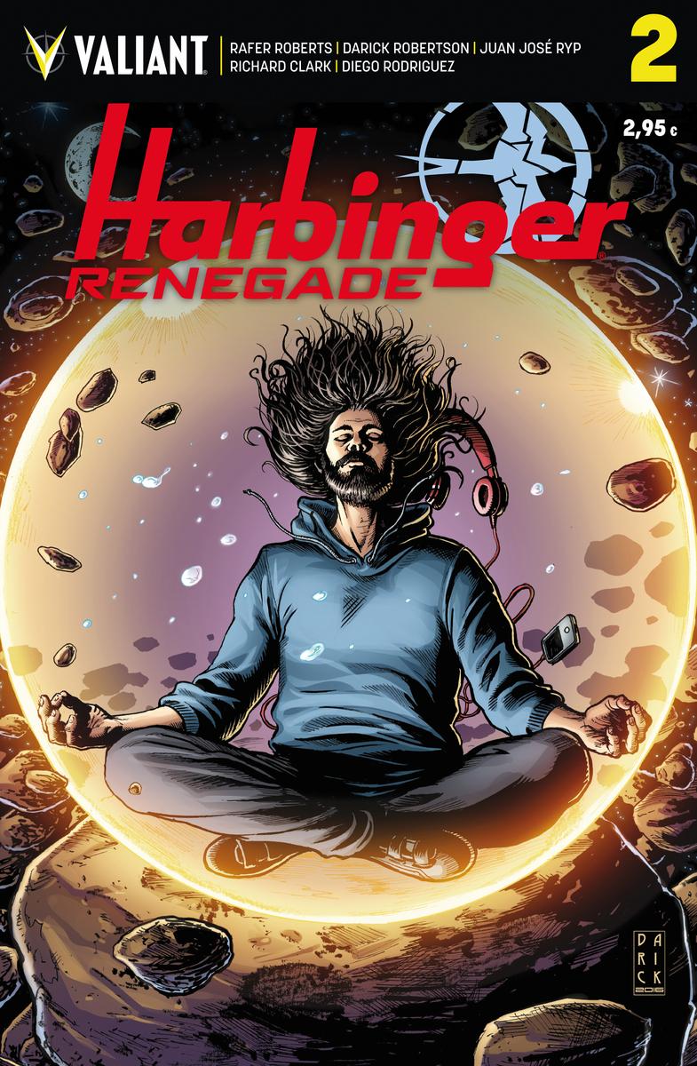 HARBINGER RENEGADE 2: portada