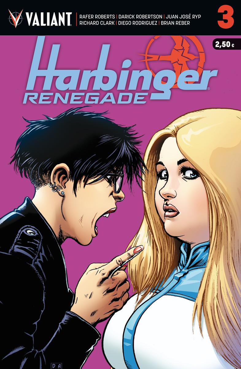 HARBINGER RENEGADE 3: portada