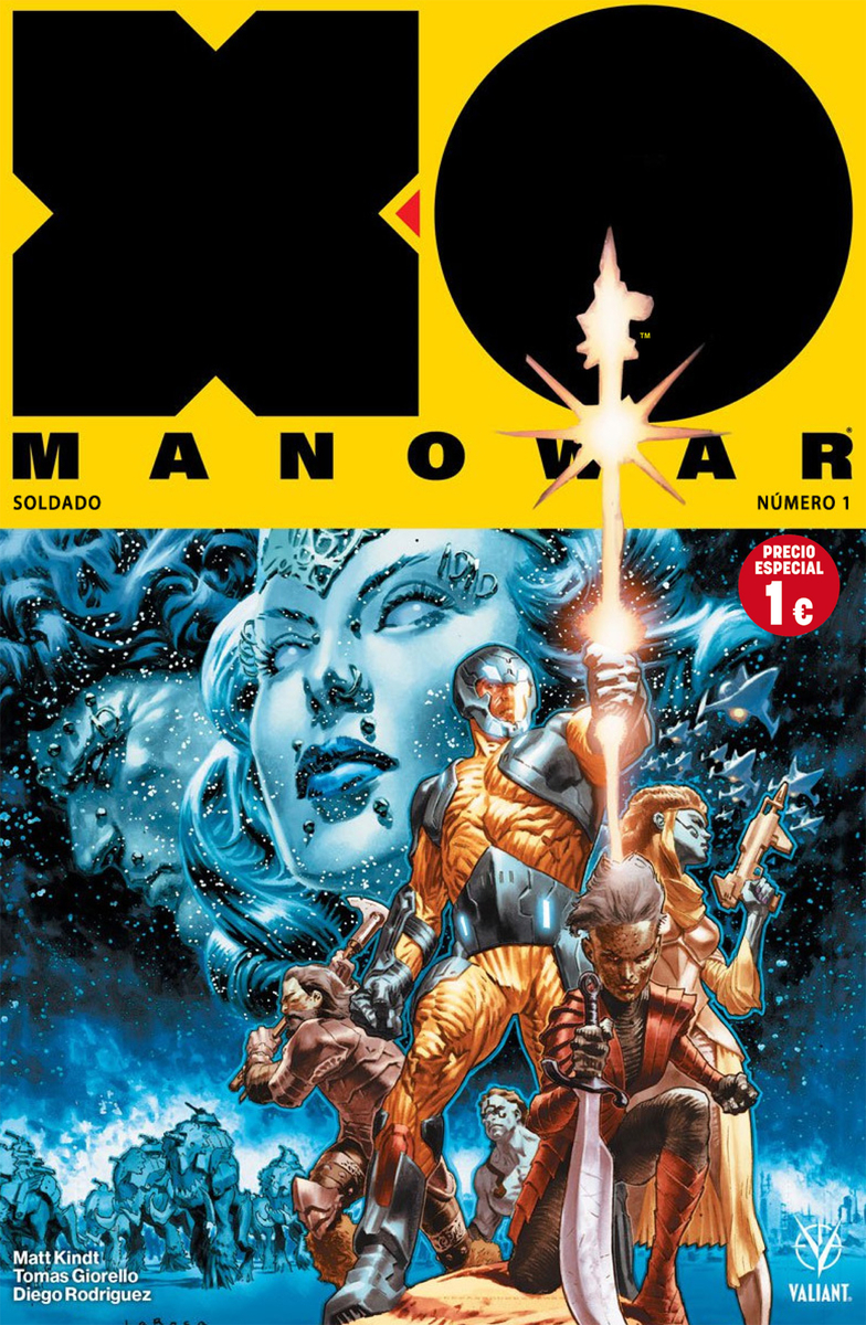 XO MANOWAR 1: portada