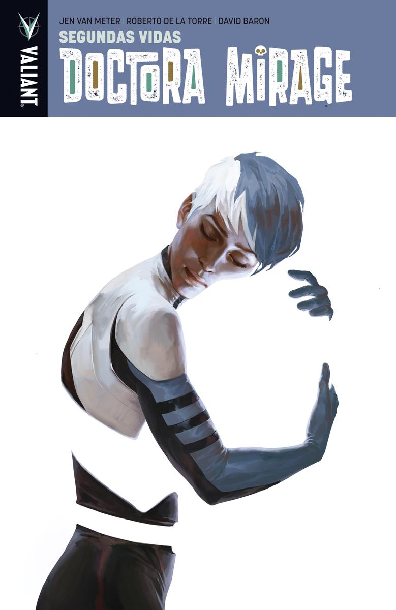 Doctora Mirage - Segundas vidas: portada