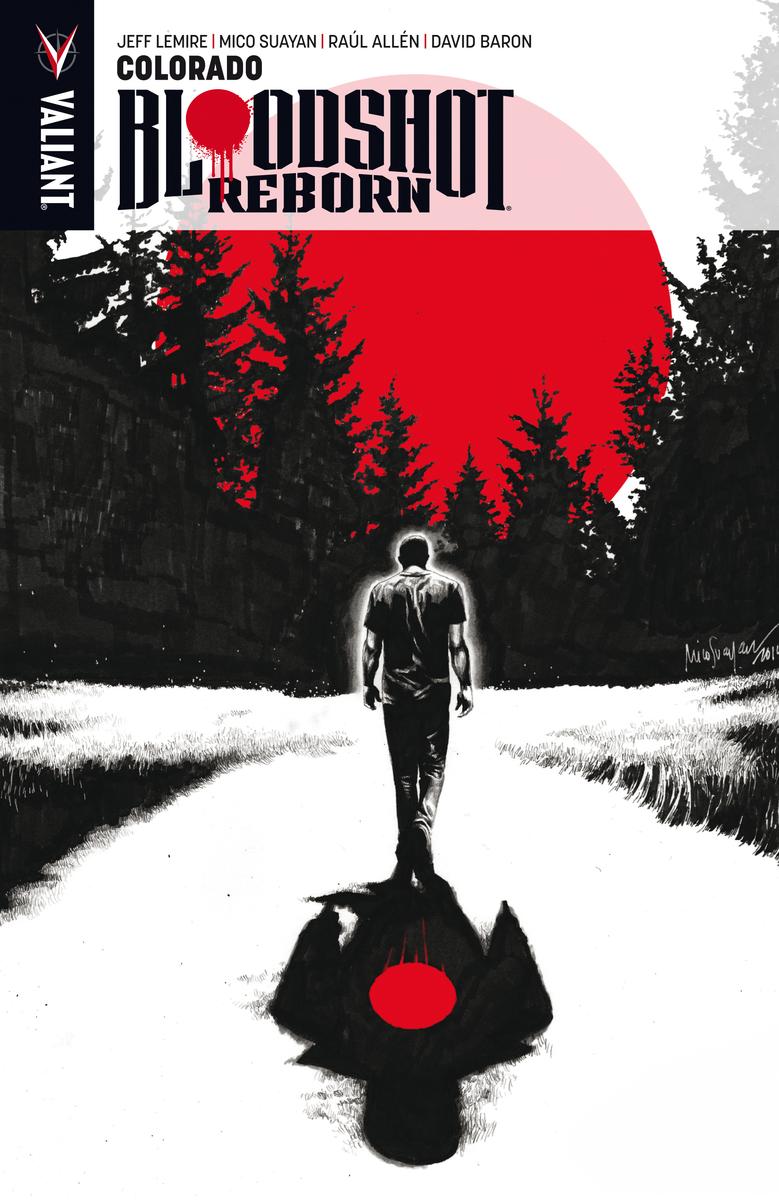 Bloodshot Reborn, 1: portada