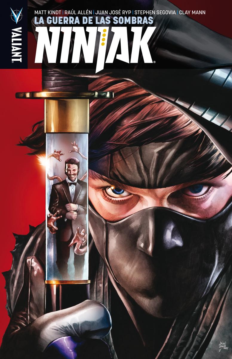 Ninjak 2: La guerra de las sombras: portada
