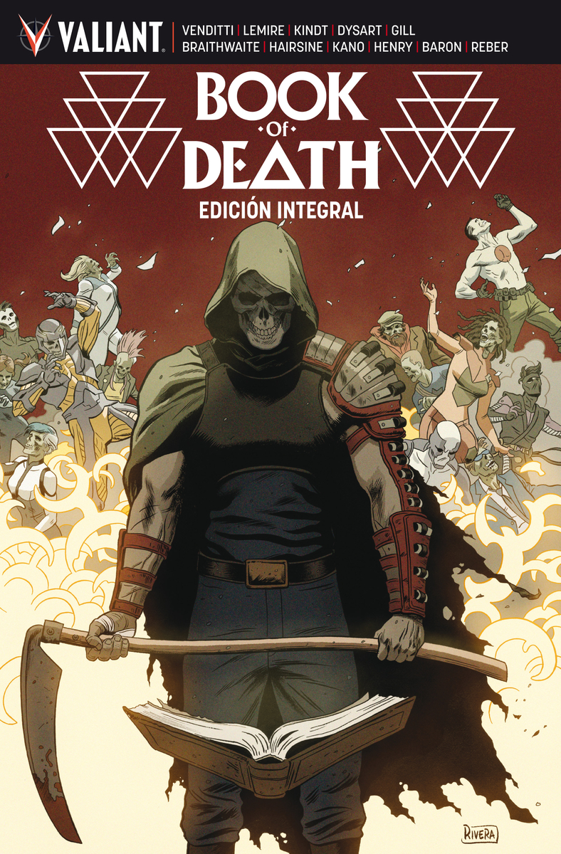 BOOK OF DEATH: portada
