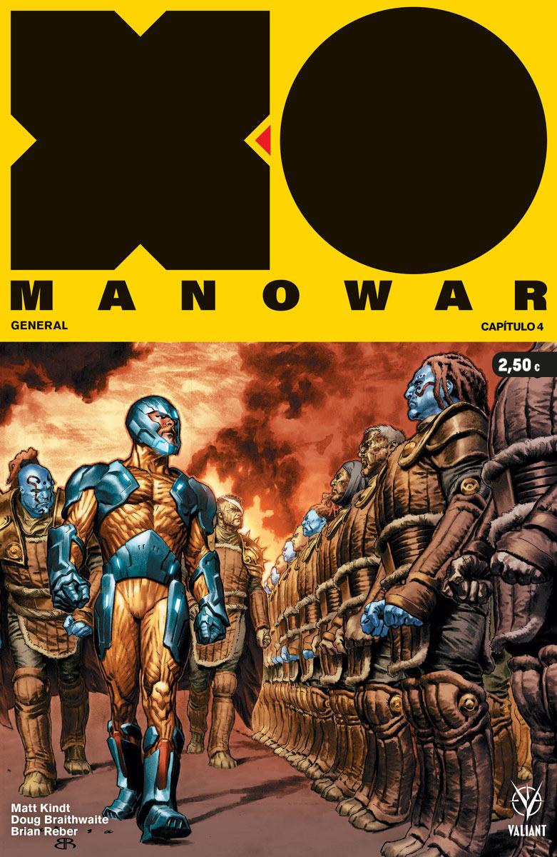 X-O MANOWAR 4: portada