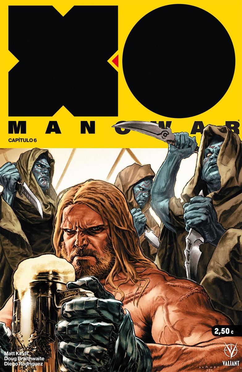 X-O MANOWAR 6: portada