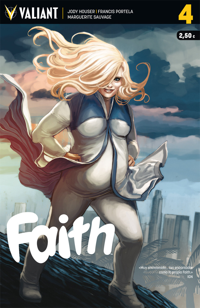 FAITH 4: portada