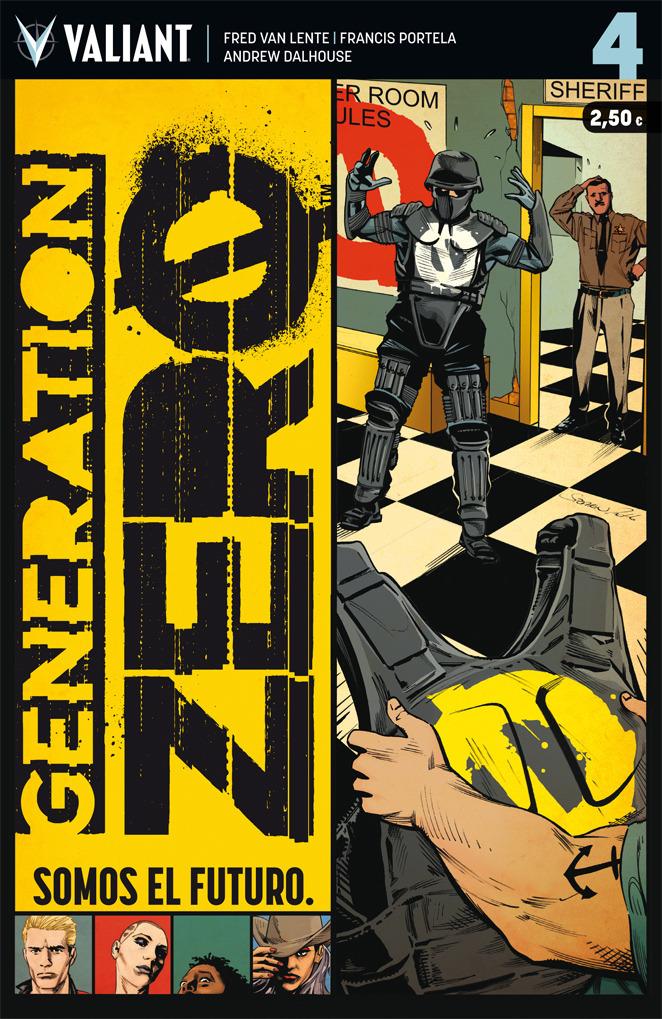 GENERATION ZERO 4: portada