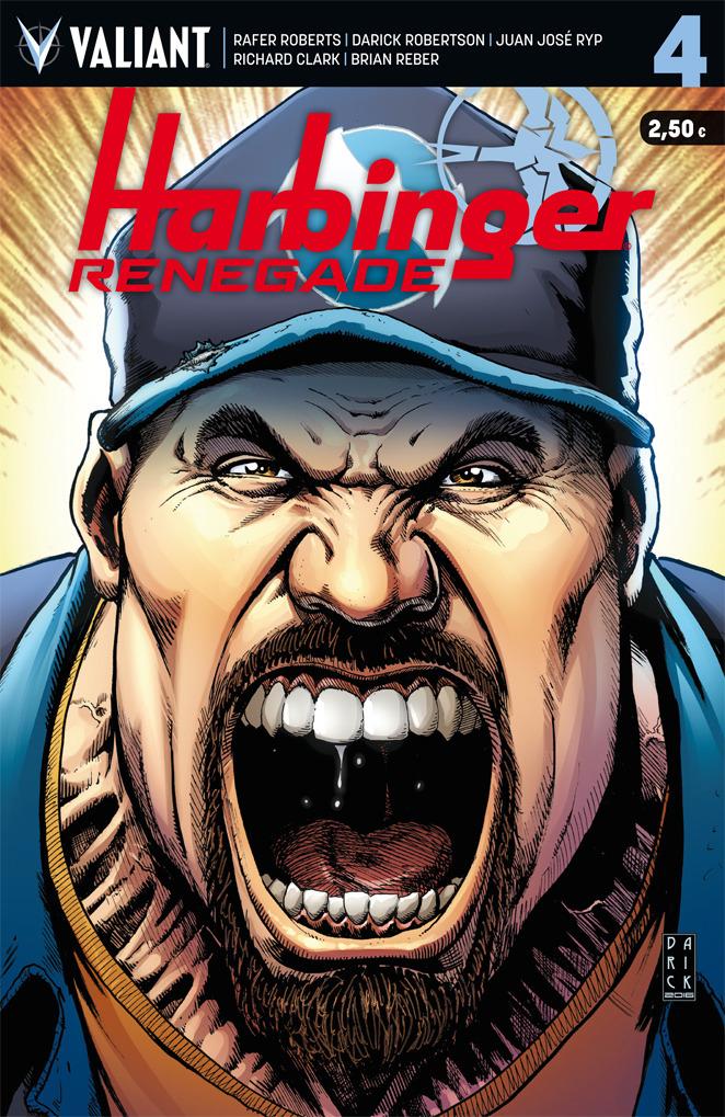 HARBINGER RENEGADE 4: portada