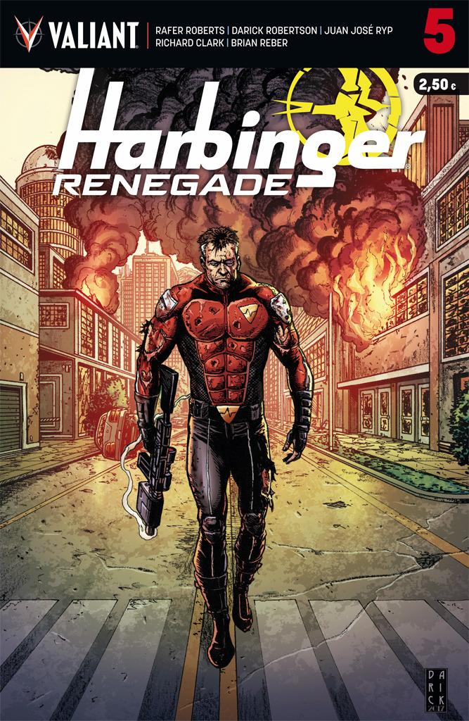 HARBINGER RENEGADE 5: portada