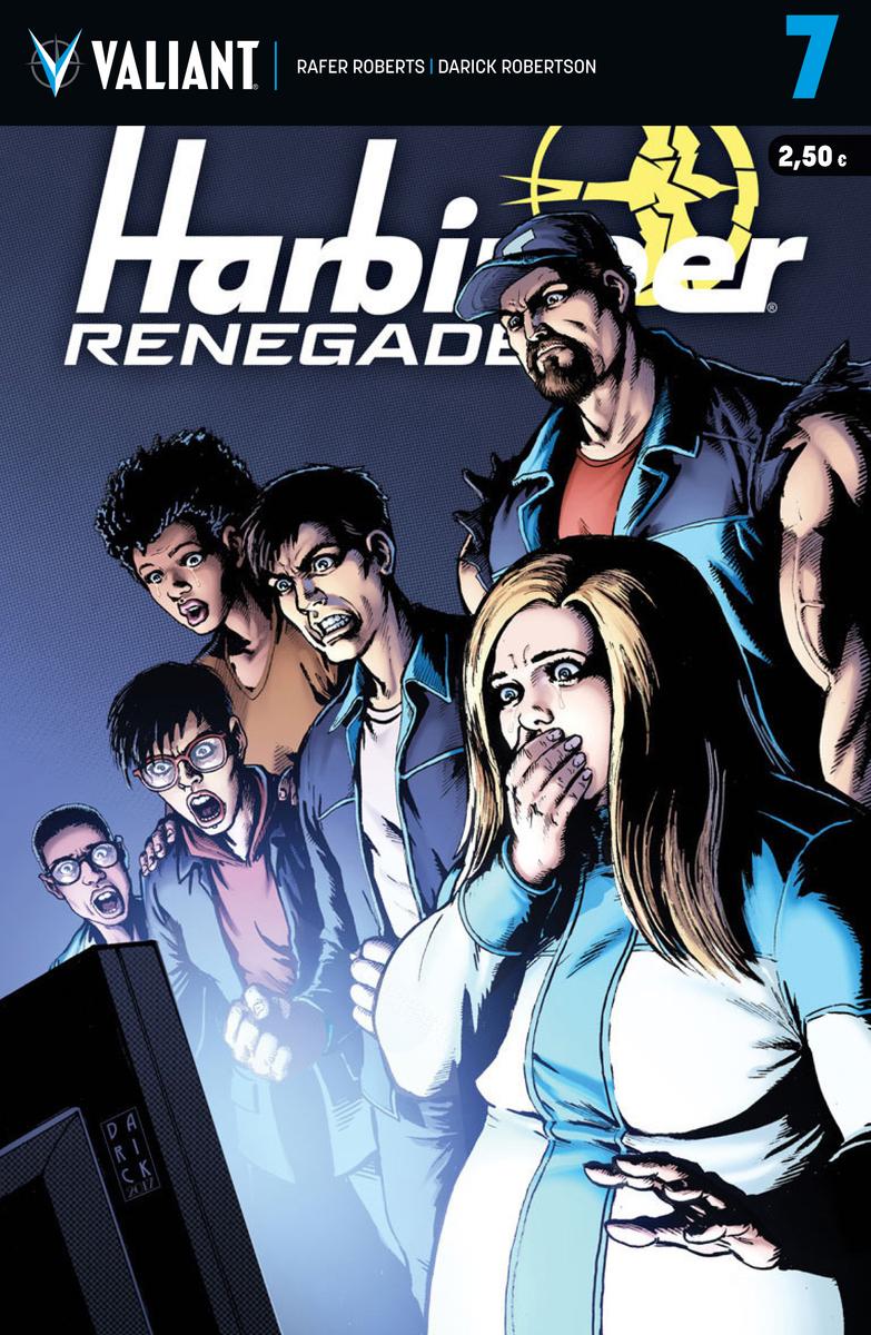 HARBINGER RENEGADE 7: portada