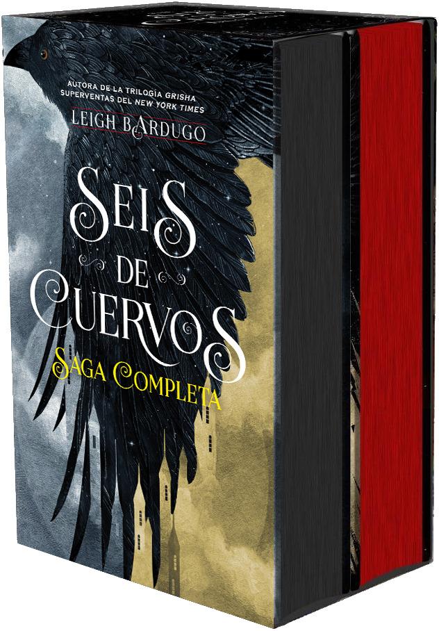 Estuche especial Seis de Cuervos y Reino de Ladrones: portada