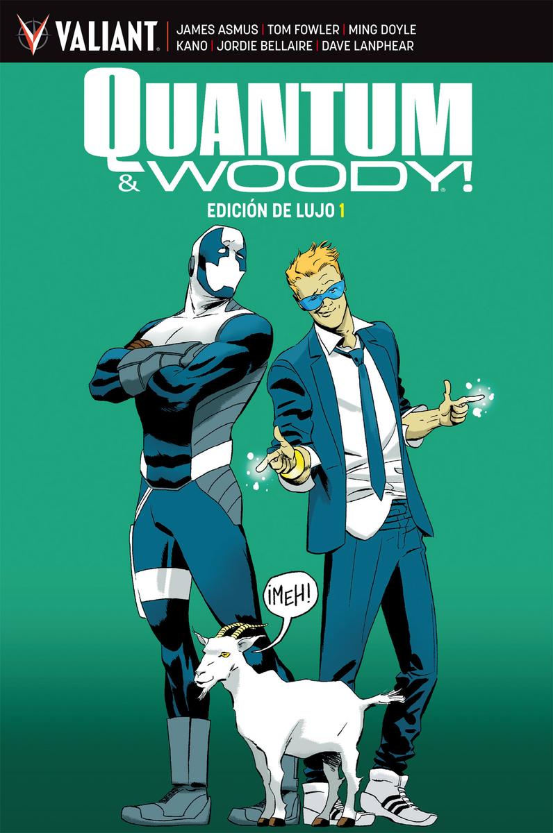 QUANTUM & WOODY - INTEGRAL 1: portada