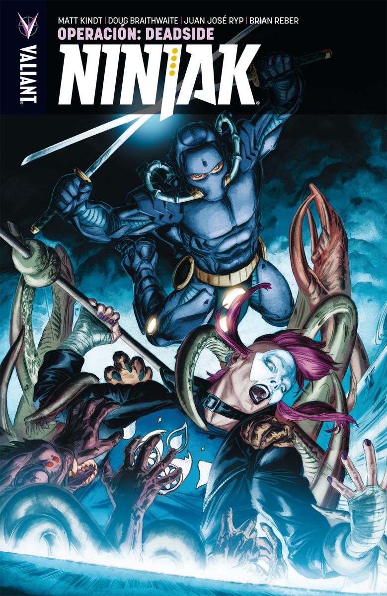 Ninjak 3: Operación Zona Muerta: portada