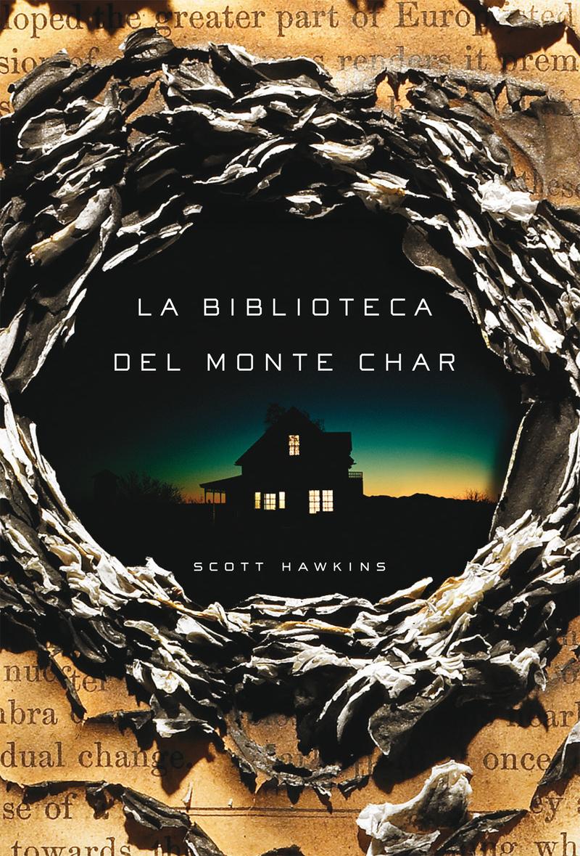 La biblioteca del Monte Char: portada