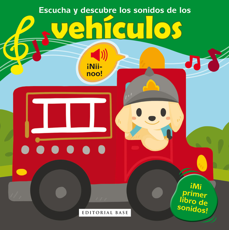 ESCUCHA Y DESCUBRE LOS SONIDOS DE LOS VEHíCULOS: portada