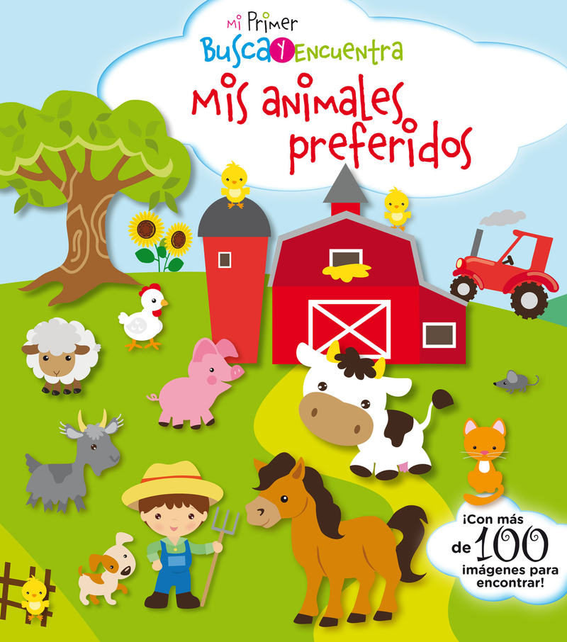 MI PRIMER BUSCA Y ENCUENTRA. MIS ANIMALES PREFERIDOS: portada