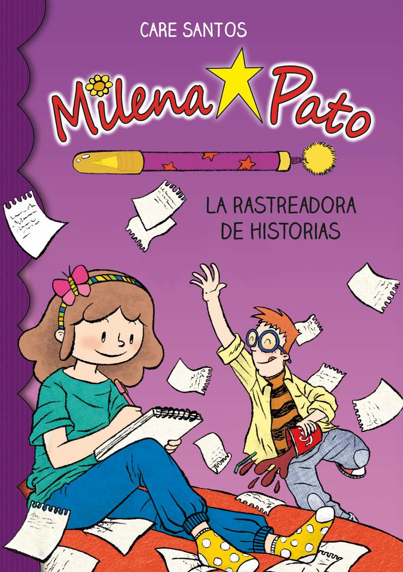 Milena Pato 1. La rastreadora de historias: portada