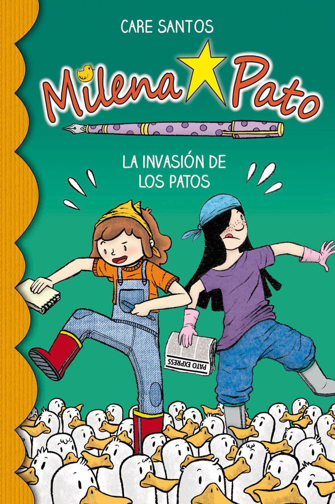 Milena Pato 4. La invasión de los patos: portada