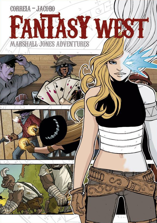 Fantasy West. Marshall Jones Adventures: portada