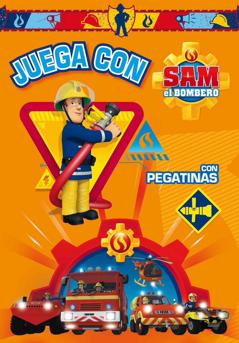 JUEGA CON SAM EL BOMBERO 1: portada