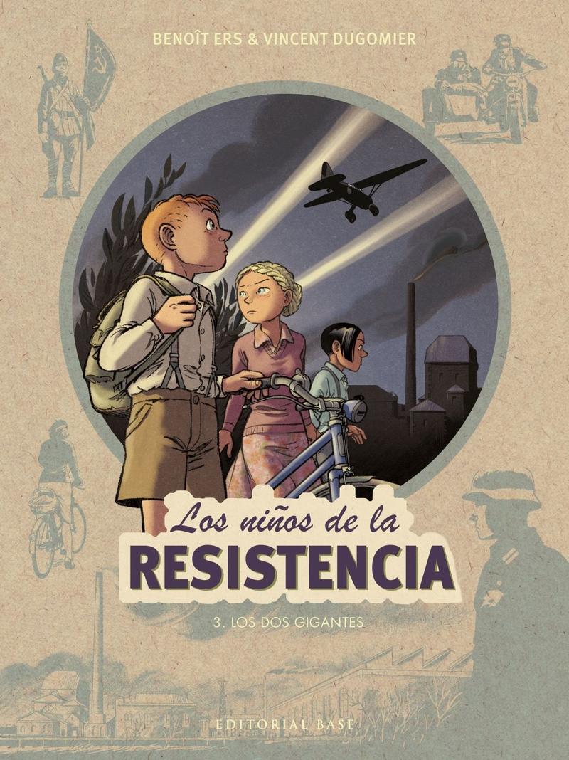 LOS NIñOS DE LA RESISTENCIA 3. LOS DOS GIGANTES: portada