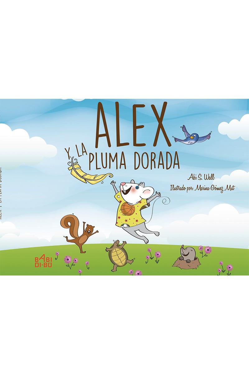 Alex y la pluma dorada: portada