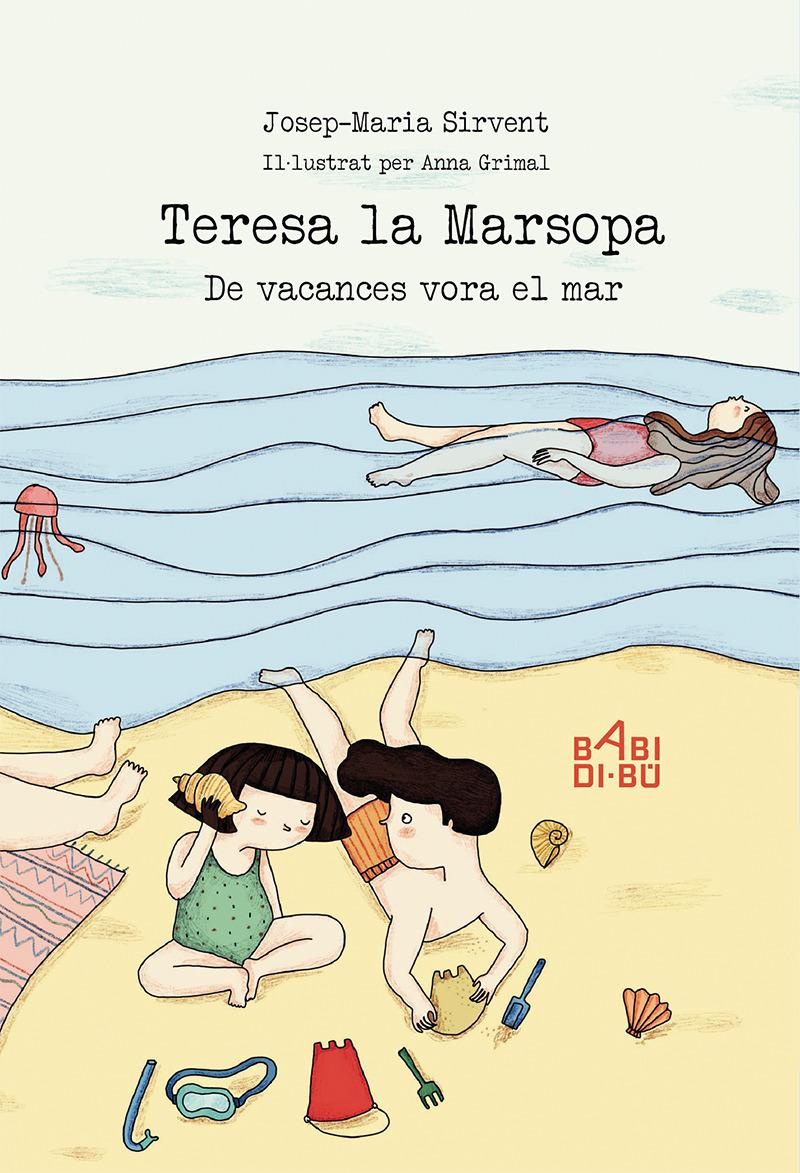 Teresa la Marsopa. De Vacances vora el mar: portada