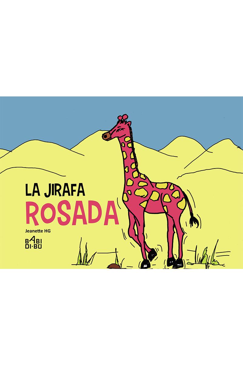 La jirafa rosada: portada