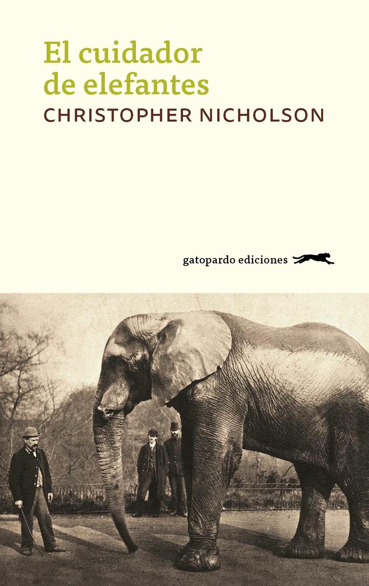 El cuidador de elefantes: portada